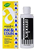 Amodex Non-Toxic Ink & Stain Remover 4 fl oz. Bottle DTG Pretreat Stain Remover | Made in USA |