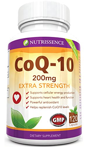 Coq10 200mg 120 Capsules Nutrissence