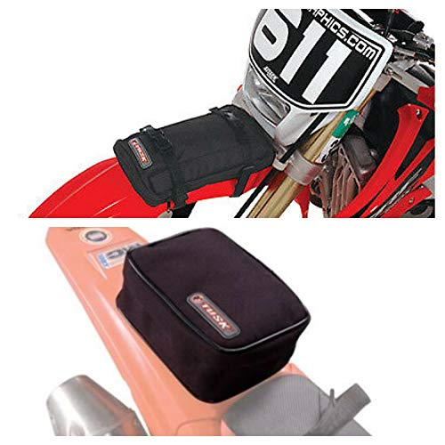 Tusk Universal Front and Rear Motorcycle Enduro Fender Pack Kit - Includes Tire - Bikes Honda Enduro