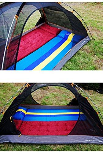 GEERTOP Colchón Inflable Automático Estera Autohinchable Aislante Portátil Ligero - 184 x 67 x 3,8 cm (1,7 kg) - Colchoneta Para Camping al Aire Libre ...