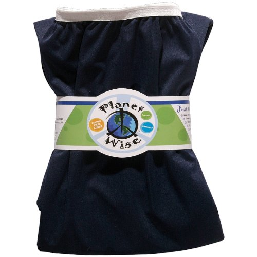 UPC 816713010911, Planet Wise Reusable Diaper Pail Liner, Navy