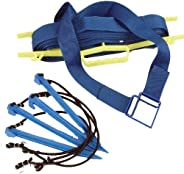 Tandem Sport 2-Inch Volleyball Court Lines, Blue