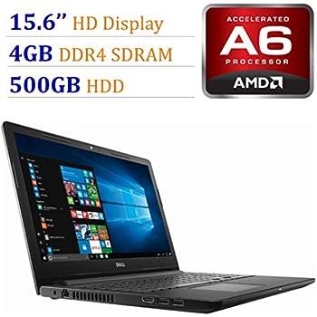 2018 Newest Premium Dell Inspiron 15.6-inch HD Display Laptop PC, 7th Gen AMD A6-9220 2.5GHz Processor, 4GB DDR4, 500GB HDD, WiFi, HDMI, Webcam, MaxxAudio, ...