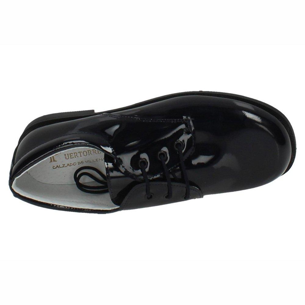 3878d99abd PUERTORREY 4143 Zapatos Piel Charol NIÑO Zapato COMUNIÓN: Amazon.es: Zapatos  y complementos