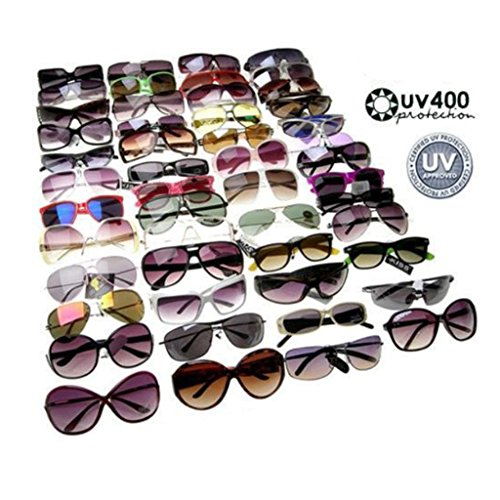 Wholesale Lot of Mens Womens Sunglasses Fashion Eyewear (48PACK, - Sunglasses 48k
