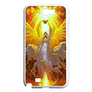 High quality angels Pattern Hard Case Cover for For Samsung Galaxy Case Note 2 FKGZ420847