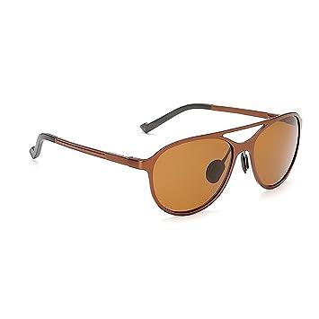 fish Hombres de Aluminio y magnesio Gafas de Sol polarizadas protección UV 400 Lentes Anti-UV de conducción al Aire Libre Gafas de Sol: Amazon.es: Deportes ...