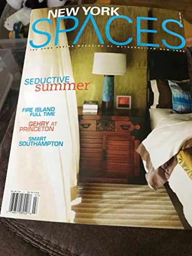 new york spaces magazine july august 2009 seductive summer fire island full time gehry at princeton smart southampton (New York Spaces Magazine)