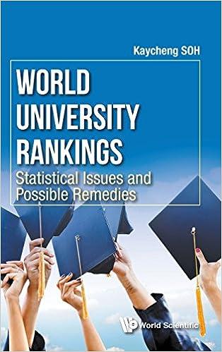 Amazon.com: World University Rankings: Statistical Issues ...