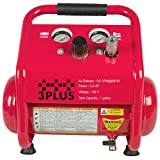 3PLUS HC0504GM Induction Oil-Free Quiet Air Compressor Portable Trim Compressor, 2X the Life, 1 Gallon Review