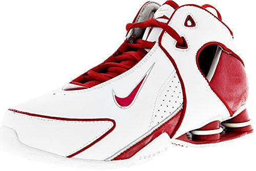 Nike Womens 314037 Scarpa Da Basket In Pelle Alla Caviglia 161