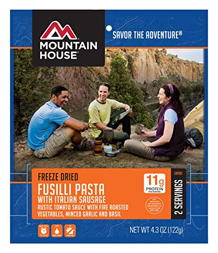Mountain House Fusilli Pasta with Italian Sausage