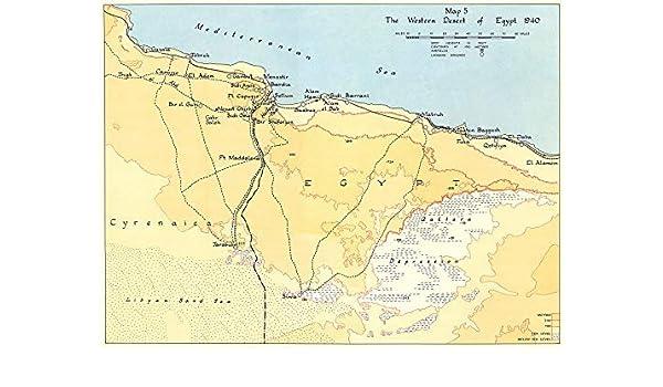 Amazon.com: SECOND WORLD WAR. Egypt Western Desert 1940 ...