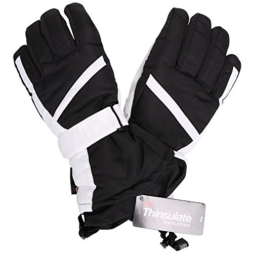 Livingston Water Resistant Winter Sports Ski Gloves w/ Reinforced Textured Grip