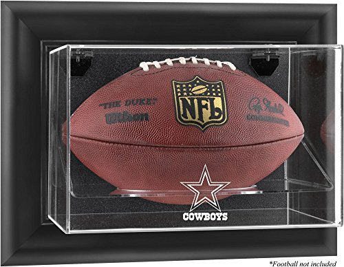 Mounted Memories Dallas Cowboys Football Logo Display Case - Dallas Cowboys One Size ()
