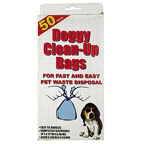 50 Dog Disposal Bags Case Pack 72 - 113709 by bulk buys
