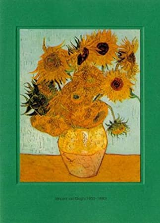 Artoz Kunstkarte Van Gogh Sonnenblumen Format B6 Ein Set Besteht