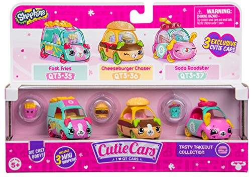 Shopkins S3 3 Pack - Tasty Takeout