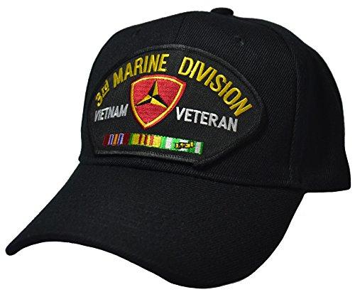 3rd Marine Division Vietnam Veteran Cap (Marine Hat Division)