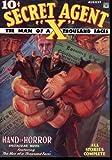 Secret Agent X - August 1934, Brant House, 159798163X