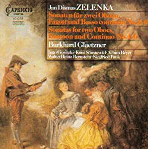 Zelenka: Sonatas for Two Oboes, Bassoon & Continuo, Nos. 4-6