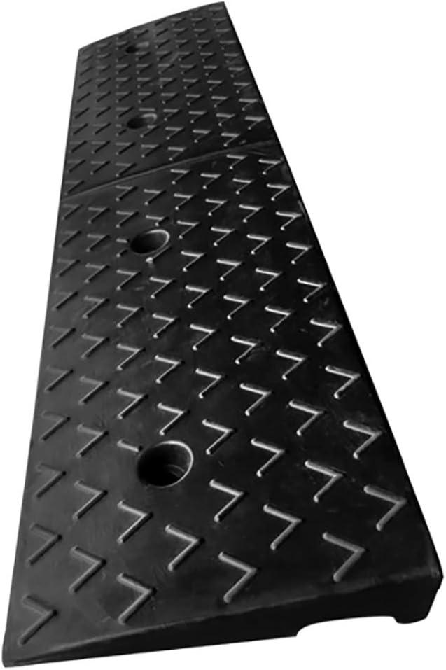 SPLY Heavy Duty Rubber Curb Ramps Wheel Assist Ramp L99.8W25H7cm