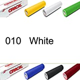 """ORACAL 631 Sign Vinyl 24"""" x10YD Indoor Wall Graphics Self Adhesive-Backed - White"""