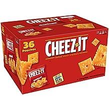 Kellogg 's cheez-it Baked Snack Crackers (Original, paquetes de 1,5 onzas,...