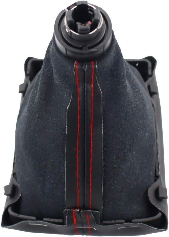 sans Logo PNLD Accessoires de Voiture MT Pommeau de Levier de Vitesses 6 Vitesses pour Audi A4 S4 B8 8K A5 8T Q5 8R Sline 2007-2015