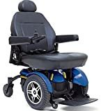 Pride Mobility - Jazzy Elite 14 - Front-Wheel Drive Power Chair - Jazzy Blue