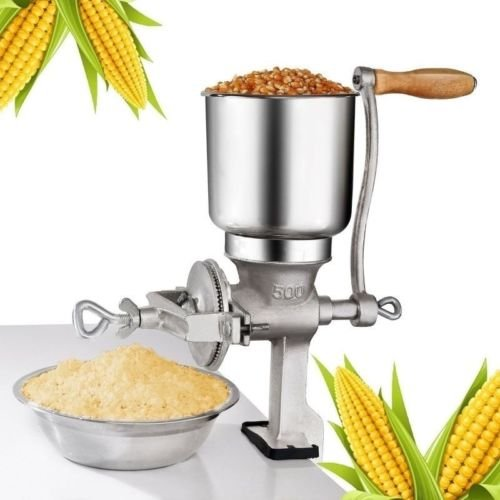 - Phantomx Manual Corn Grinder Flour Maker Wheat Grain Nut Mill Grinder Kitchen Tool