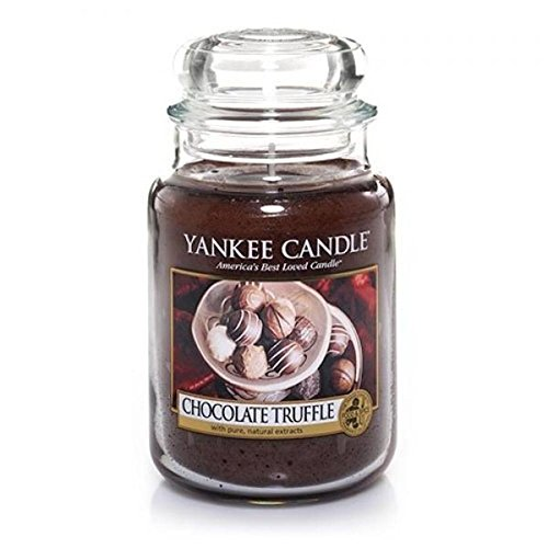 Yankee Candle Chocolate Truffle Large Jar Candle, Food & Spice (Chocolate Truffle Candle)