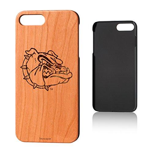 Keyscaper Gonzaga University Cherry Wood iPhone 7 Plus/iPhone 8 Plus Case NCAA