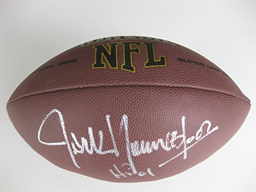 - Jack Youngblood, Los Angeles Rams, St Louis Rams, Signed, Autographed, NFL Football, a Coa with the Proof Photo of Jack Signing Will Be Included with the Football