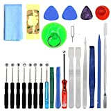 Kingsdun Tools 25 IN 1 Professional Universal Screen Removal Opening Repair Tool kit Pry Tools Kit Set Disassemble Kits For phone ,Ipad, Laptop and other mobile device