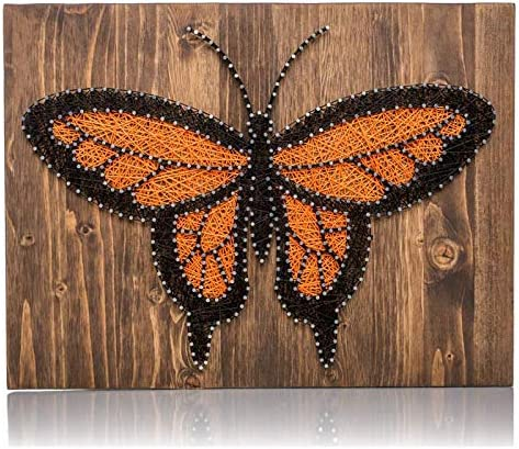 MADE TO ORDER Butterfly String Art Sign