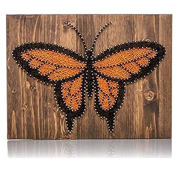 Amazon Com String Art Kit Monarch Butterfly Decor Butterfly