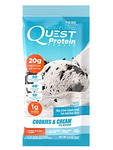 Nutrition Powder Packs - Mix and Match Your Favorite Flavors (Cookies & Cream)