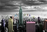 New York Color Splash Poster Art Print