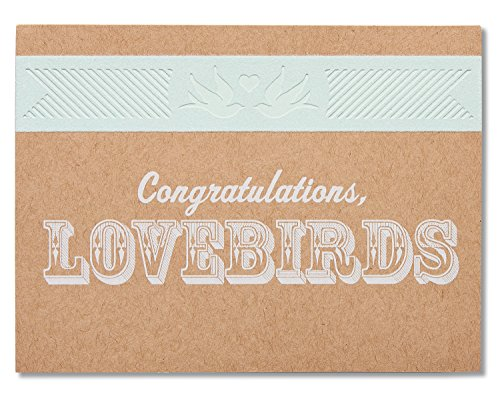 American Greetings Lovebirds Wedding Card with (Love Birds Wedding Invitation)