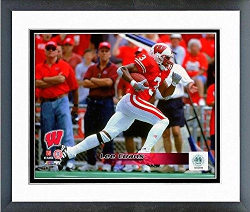 2001 Wisconsin Football - Lee Evans Wisconsin Badgers 2001 Action Photo (Size: 12.5