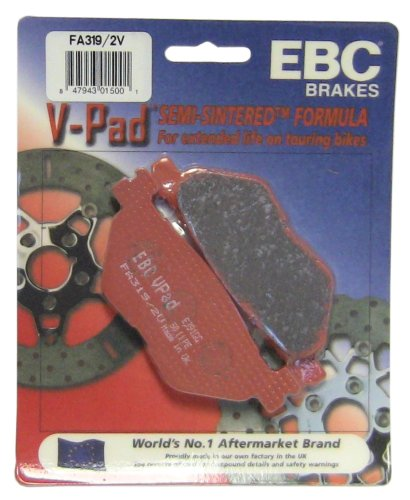 (EBC Brakes FA319/2V Semi Sintered Disc Brake Pad)