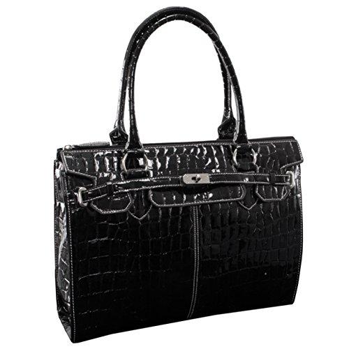 mckleinusa-francesca-11105-black-faux-patent-croco-leather-ladies-business-tote