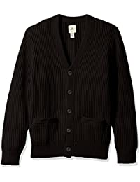 Dockers Men's Long Sleeve Button Front Cotton Cashmere Cardigan