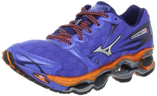 Mizuno Women's Wave Prophecy 2 Running Shoe,Amparo Blue,6 B