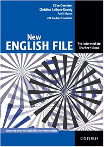 New english file teachers book pre intermediate level clive new english file teachers book pre intermediate level clive oxenden christina latham koenig paul seligson lindsay clandfield 9780194384346 fandeluxe
