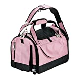 Cheap Pet Gear World Traveler with Wheels for Cats and Small Dogs, Pet Carrier, Small, Crystal Pink
