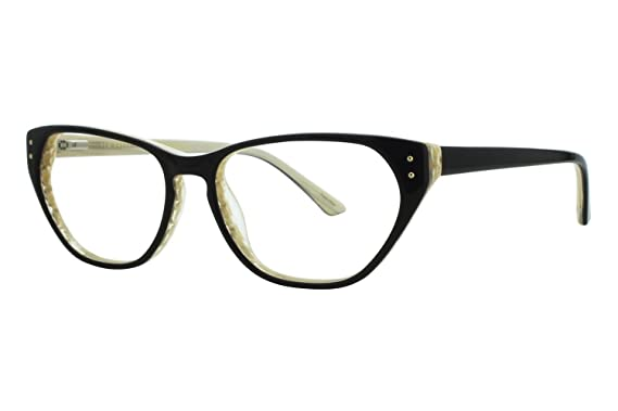 299f0237c5 Amazon.com  Ted Baker B720 Womens Eyeglass Frames - Black Bone  Clothing