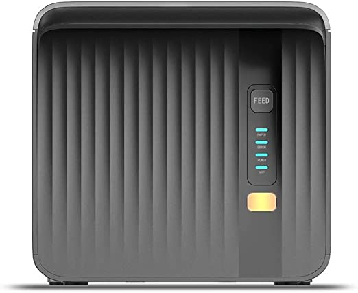 Negaor MHT P80A 80mm POSプリンターデスクトップレシートサーマル印刷自動用紙カットUSBシリアルイーサネットLANによる壁取り付けESC/POS印刷コマンドと互換性がありますブラックUSプラグ