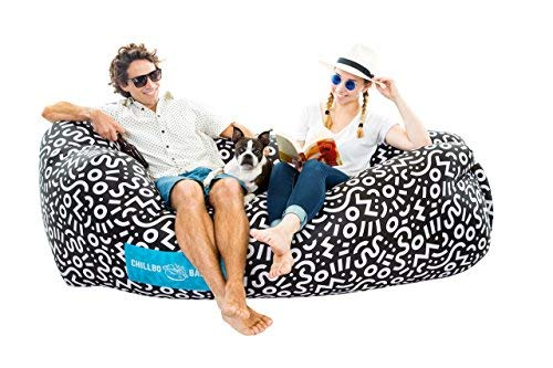CHILLBO SHWAGGINS Baggins Inflatable Hammock Air Sofa and Pool Ships IDEAL OUTDOOR GIFT Air Lounger Indoor or or Camping Festivals